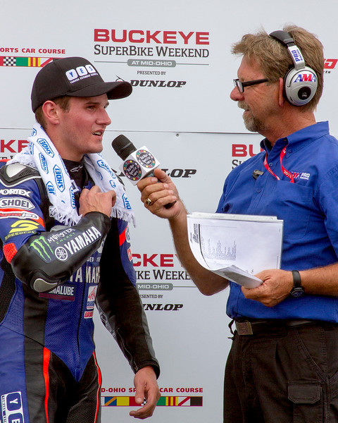 YES Cameron Beaubier Third Place Finish Saturday SportBike