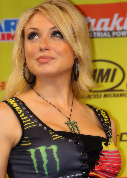 Pensive, Personable, Tomboy, Hot Model, Intense Competitor, and more, Dianna Dahlgreen contributes much to AMA Supercross