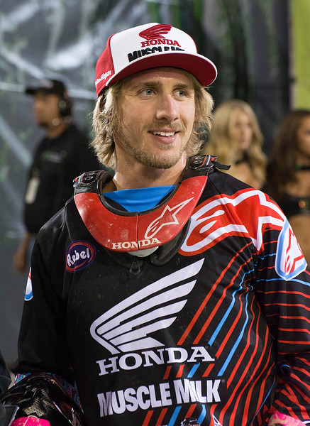 Justin Barcia Supercross star champion and Monster Cup rider
