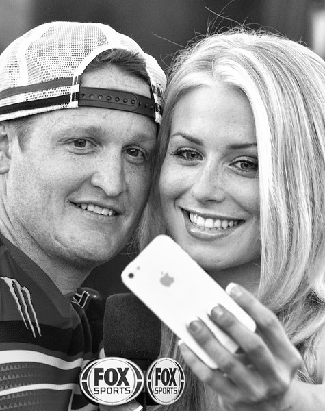 Dianna Dahlgren and Ricky Carmichael Fox Sports 2013 Monster Energy Cup