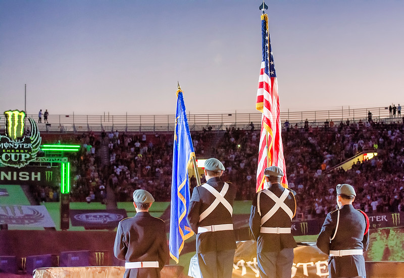 Color Guard 2013 Monster Energy Cup