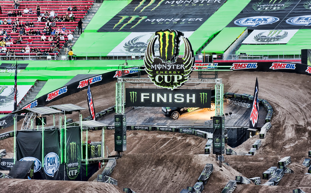 Monster Cup Ricky Carmichael track design