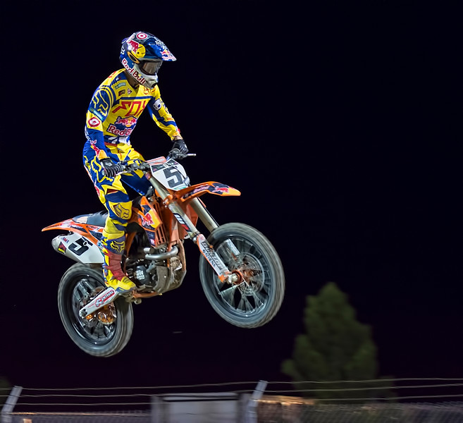 Ryan Dungey takes to the air 2013 Monster Energy Cup
