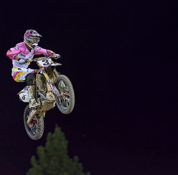 Eli Tomac Supercross star Monster Cup rider
