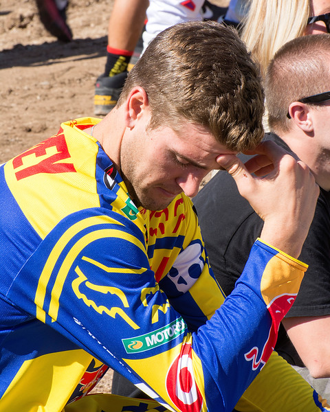 Ryan Dungey contemplates Monster Cup race 2013
