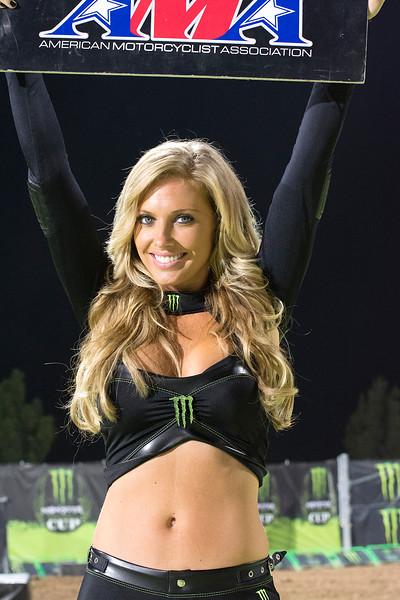 Lovely Monster Energy Girl at Monster Cup