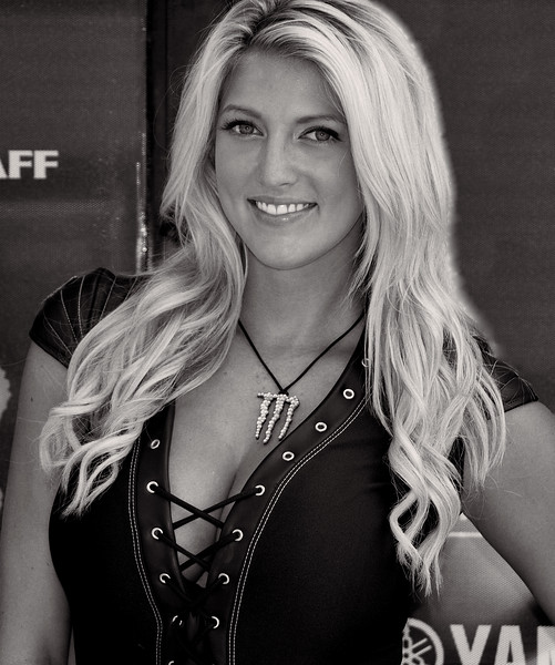 Monster Energy Drink Girl Bradi S. Graves Yamaha Mid-O