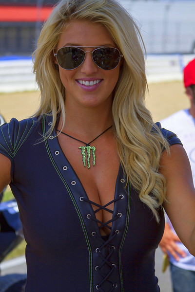 Lovely Monster Energy Drink Girl Bradi S. Buckeye SuperBike Weekend