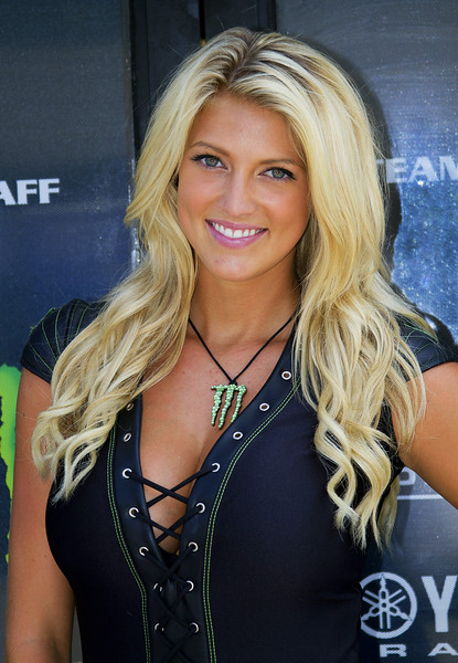 Monster Energy Drink Girl Bradi S. Graves Yamaha Trailer