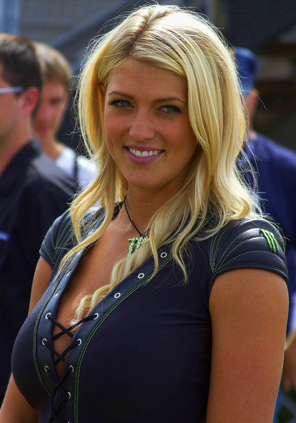 Monster Energy Drink Girl Bradi S. in Paddock