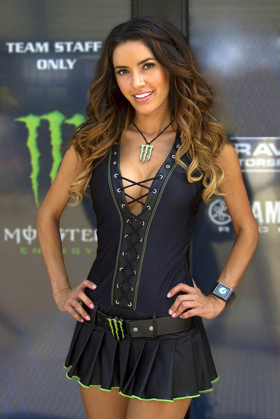 Monster Energy Drink Girl Mercedes Terrell