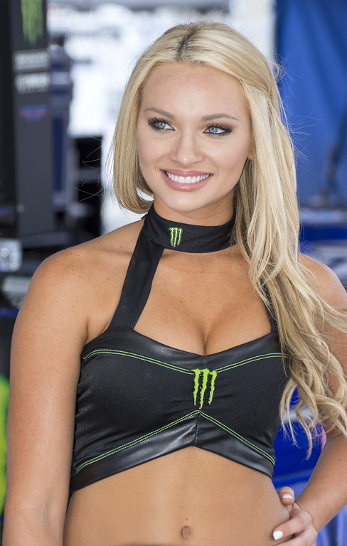 Monster Energy Umbrella Girl Graves Motorsports Barber