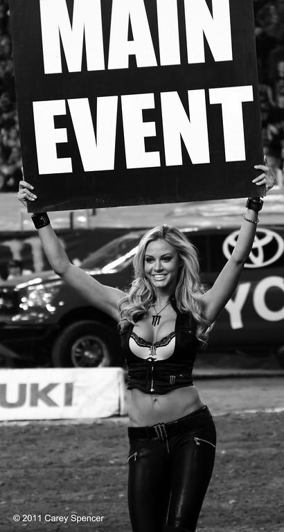 Main Event AMA Supercross Monster Energy Drink Girl Atlanta