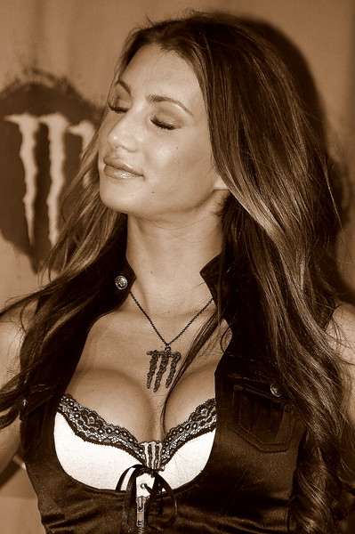 Monster Energy Girl Sam Boyd Stadium Las Vegas 2011 AMA SX Championship