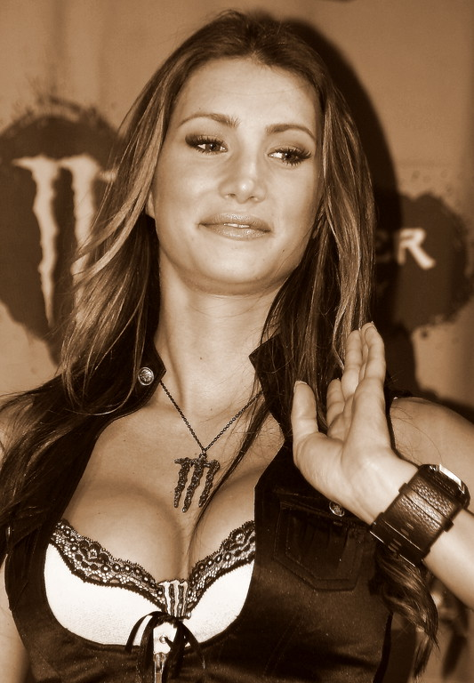 Monster Energy Girl AMA SX Championship Las Vegas