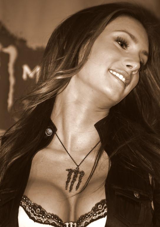 AMA SX Vegas Monster Energy Girl