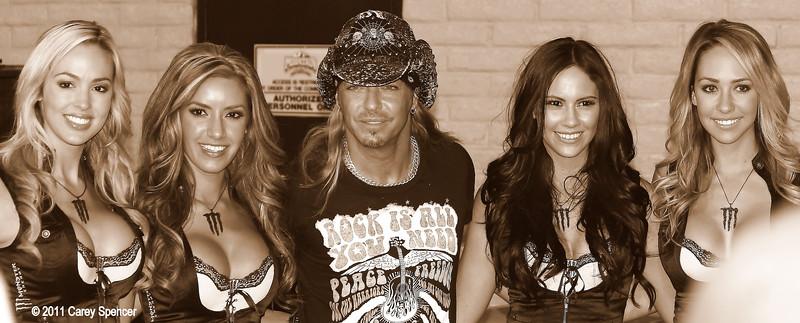 Bret Michaels Monster Energy Drink Girls Las Vegas