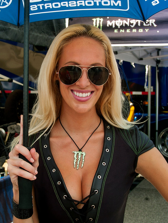 Graves Motorsports Monster Energy Girl
