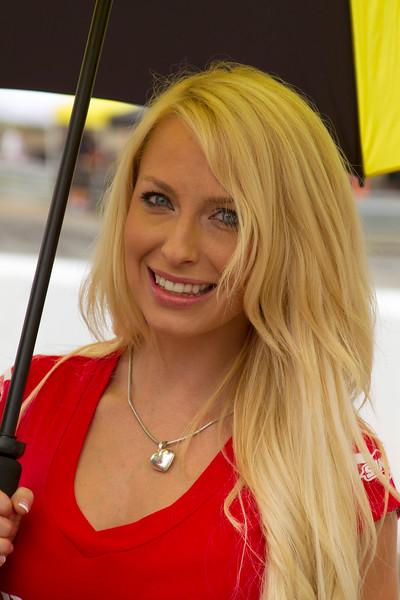 MOB Racing Umbrella Girl