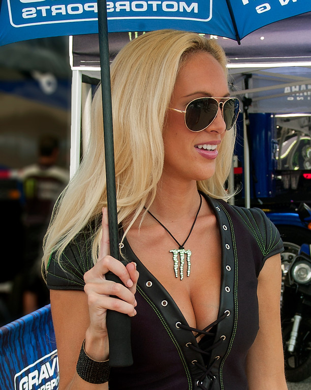 AMA Yamaha Racing Monster Energy Girl