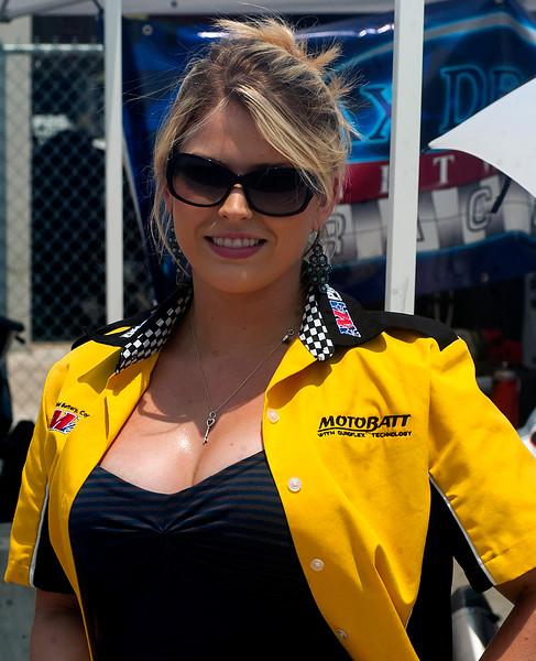 Motobatt AMA Pro Racing Umbrella girl