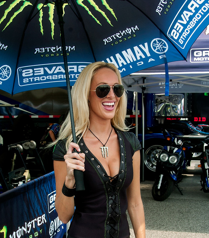 Graves Motorsports AMA Monster Energy Girl