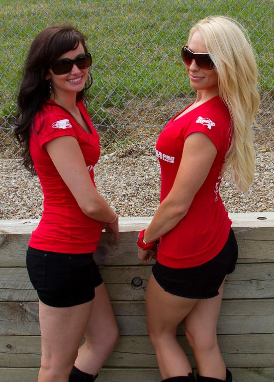 Beautiful MOB Racing Umbrella Girls Buckeye Weekend