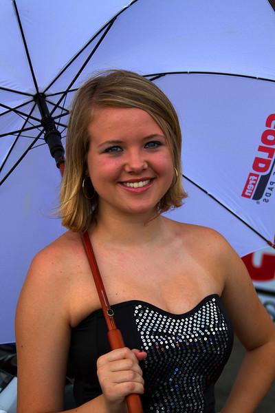 Buckeye AMA Pro Racing Weekend Umbrella Girl