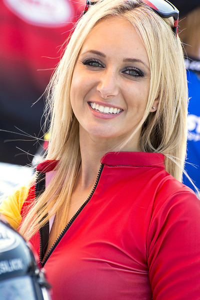 ordan Motorsports Umbrella Girl Barber 2013