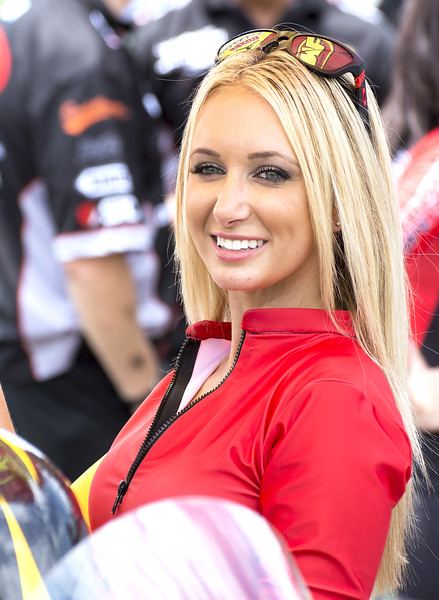 Jordan Motorsports Umbrella Girl