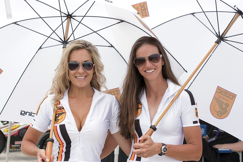 TOBC Racing Umbrella Girls