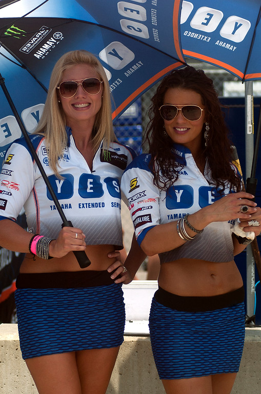 yes girls Yamaha AMA Graves Motorsports