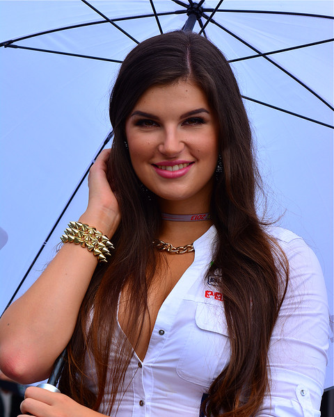MotoGP Umbrella Girl Indianapolis RedBull GP