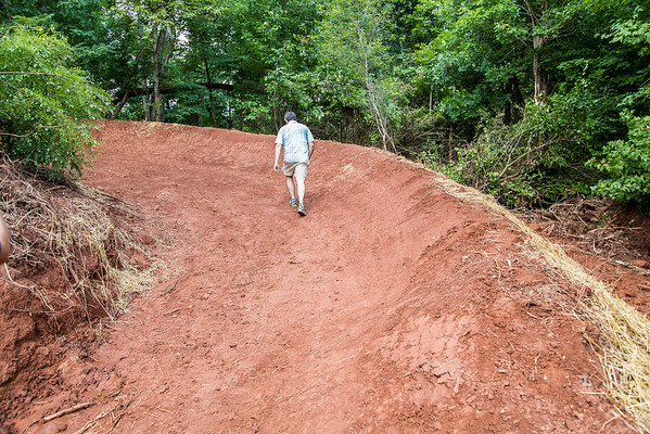 Wood Property New Trail Construction 20150724