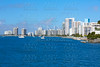 Miami Beach from MacArthur Causeway Florida