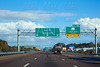 I-10 interstate in Jacksonville Florida USA