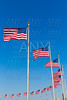 Washington Monument flags in District of Columbia
