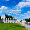 World War II Memorial in washington DC USA