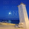 lighthouse Puerto Morelos night moon sea