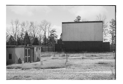 The Screen at the Siler City Drive In