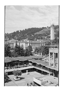 Lower Sproul from Up High