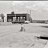 Boy on Bike in Middle of the Road, Coin, Iowa 1979
