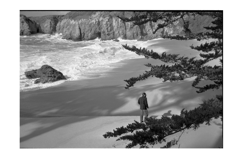 Man on Gibson Beach