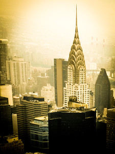 The Chrysler Building, viewed from the Empire State Building