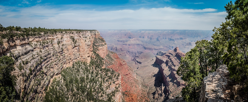 The North Rim close to Grand Canyon Village, Arizona