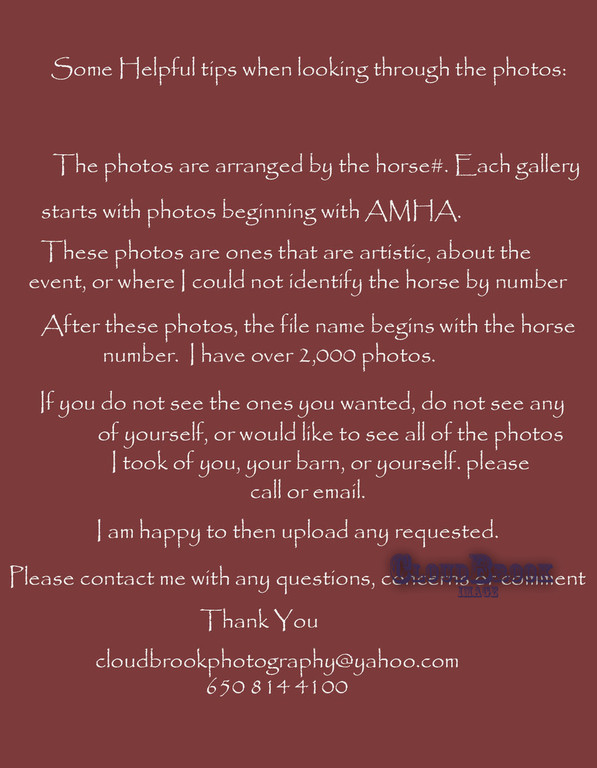 AMHA note
