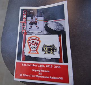 AMHL Flames Game #3 v St. Albert Raiders October  11, 2015