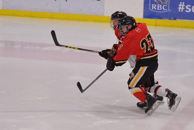 AMHL Flames Game v CFR Bisons Jan 10, 2016