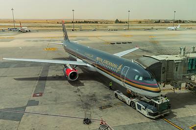 Royal Jordanian Airbus A321-231 JY-AYT 5-6-18
