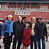 Visitors to China's Forbidden City during the 2nd Asian Myeloma Network Summit: Dr. Thomas Martin, Dr. Brian G.M. Durie, Dr. Juan Du, Dr. Wee Joo Chng and IMF's Daniel Navid.
